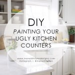 Diy Painting My Kitchen Countertops Meredith Lynn Designs