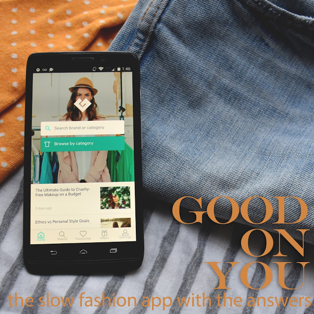 ethical fashion  good on you  the slow fashion app     Eco Voyage