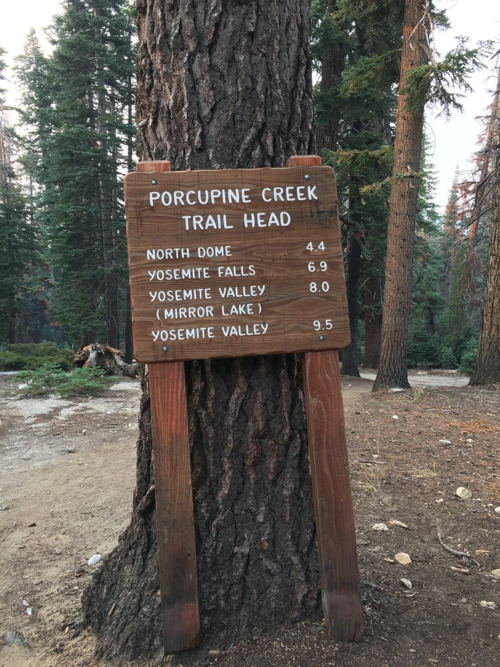 Porcupine Creek Trail Head