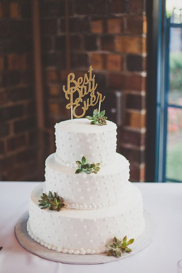 30 succulent wedding cake ideas  2015 s hottest cake trend     Wedpics     Photo by Kelly Maughan