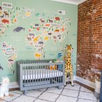 A Gender Neutral Travel Inspired Nursery Modern Animal Safari Theme A Happy Passport