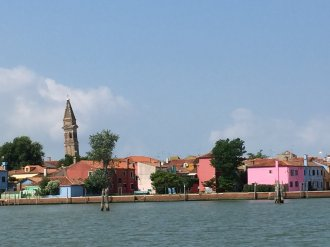 LEANING BELL TOWER OF BURANO