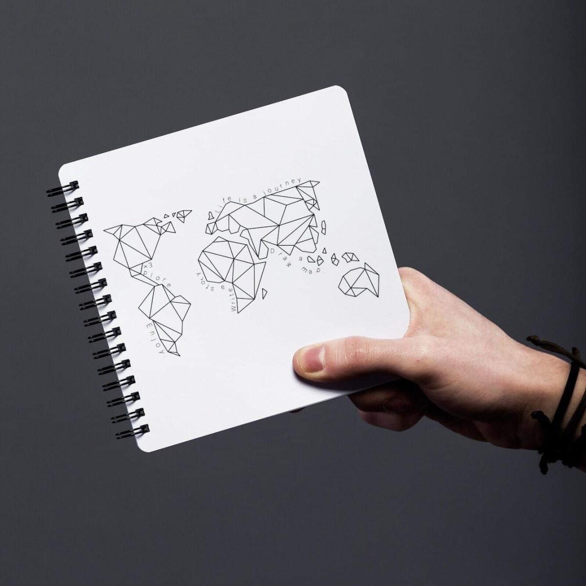 Organized.si notebook.  Photo by Kristin Švab,  @kristijansvab