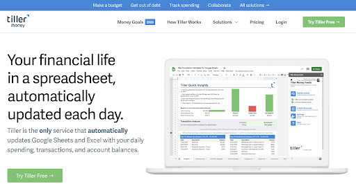 Your Financial Life in a spreadsheet