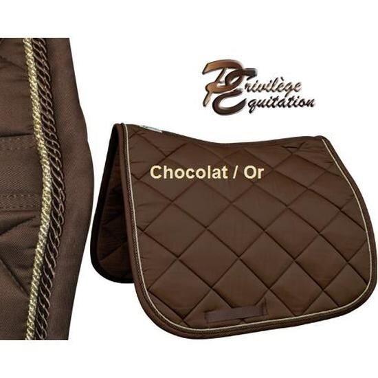 tapis dressage palm beach chocolat dresscode