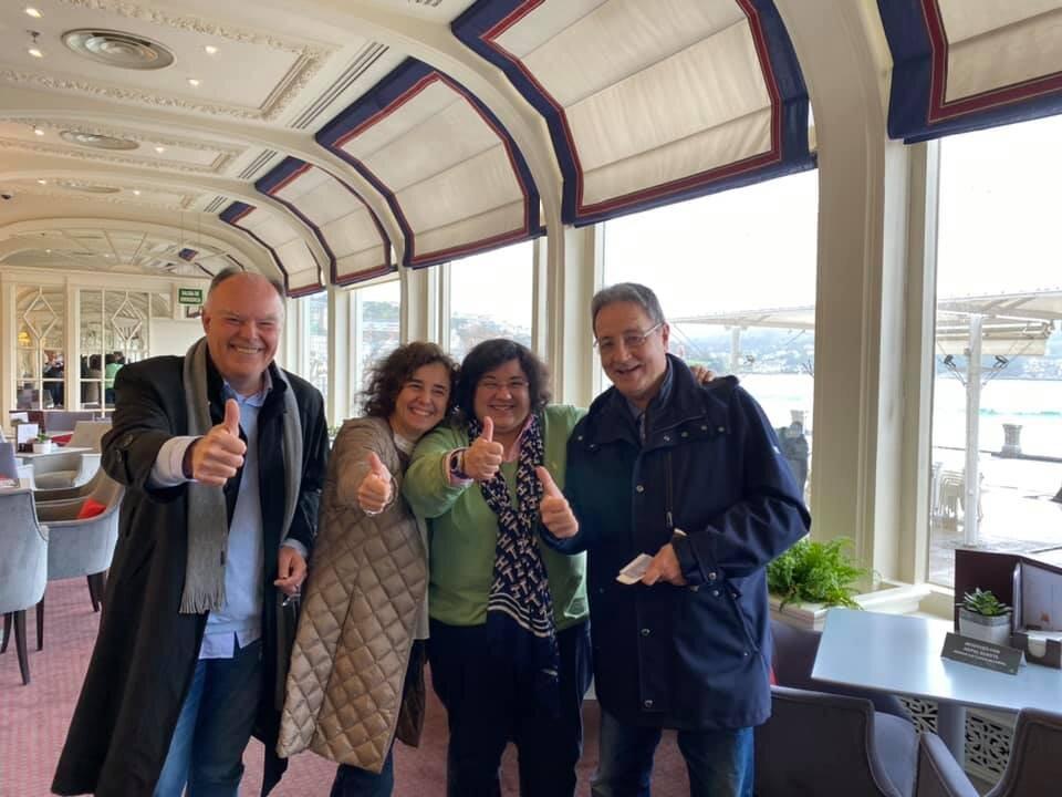 Balanço breve do Intercâmbio de Visitas Oficiais conjuntas entre a Governadora Mara Duarte e os 3 Governadores de Rotary de Espanha