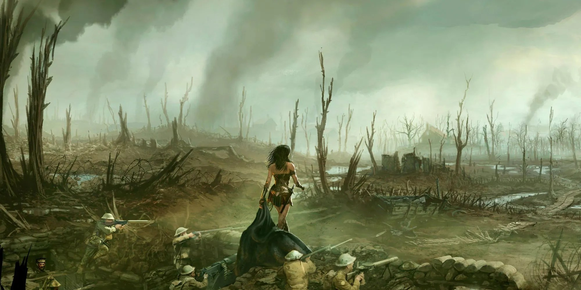 Wonder Woman No Man S Land Scene Almost Cut