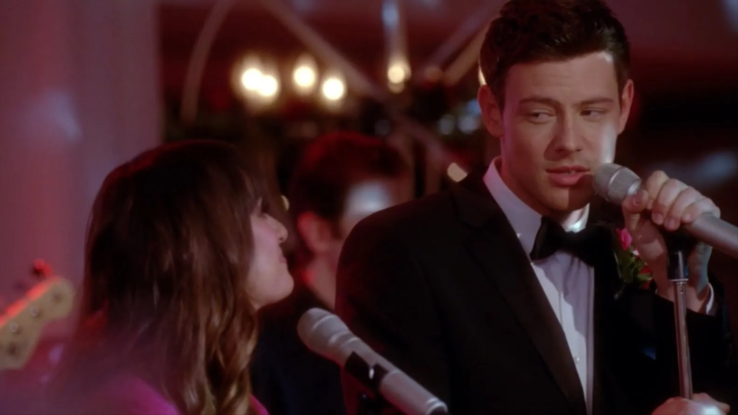 were finn and rachel dating in real life