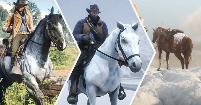 red dead redemption 2 ngựa xịn