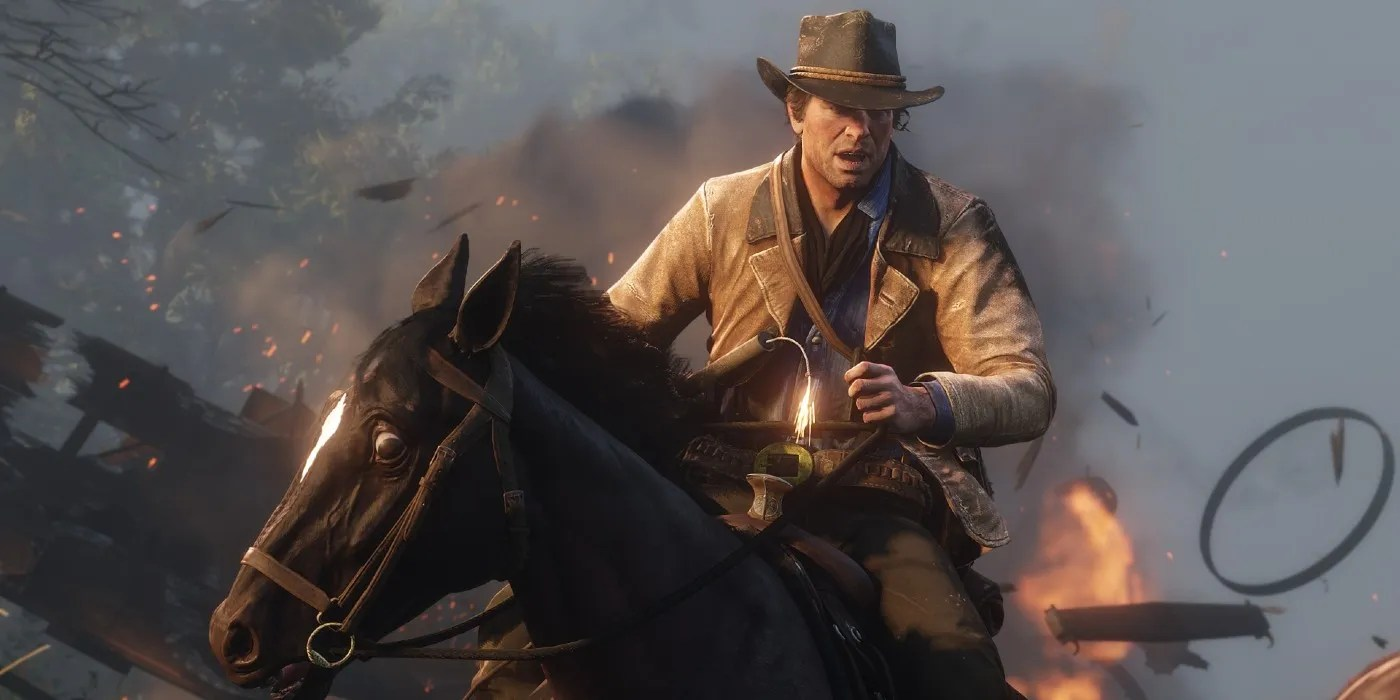 The RDR2 video shows horses that can be just as deadly as gunsmiths