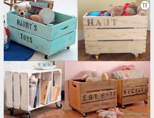Une caisse à jouets