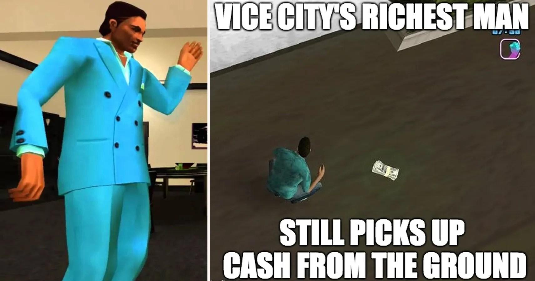 20 Hilarious Grand Theft Auto Vice City Memes Thegamer