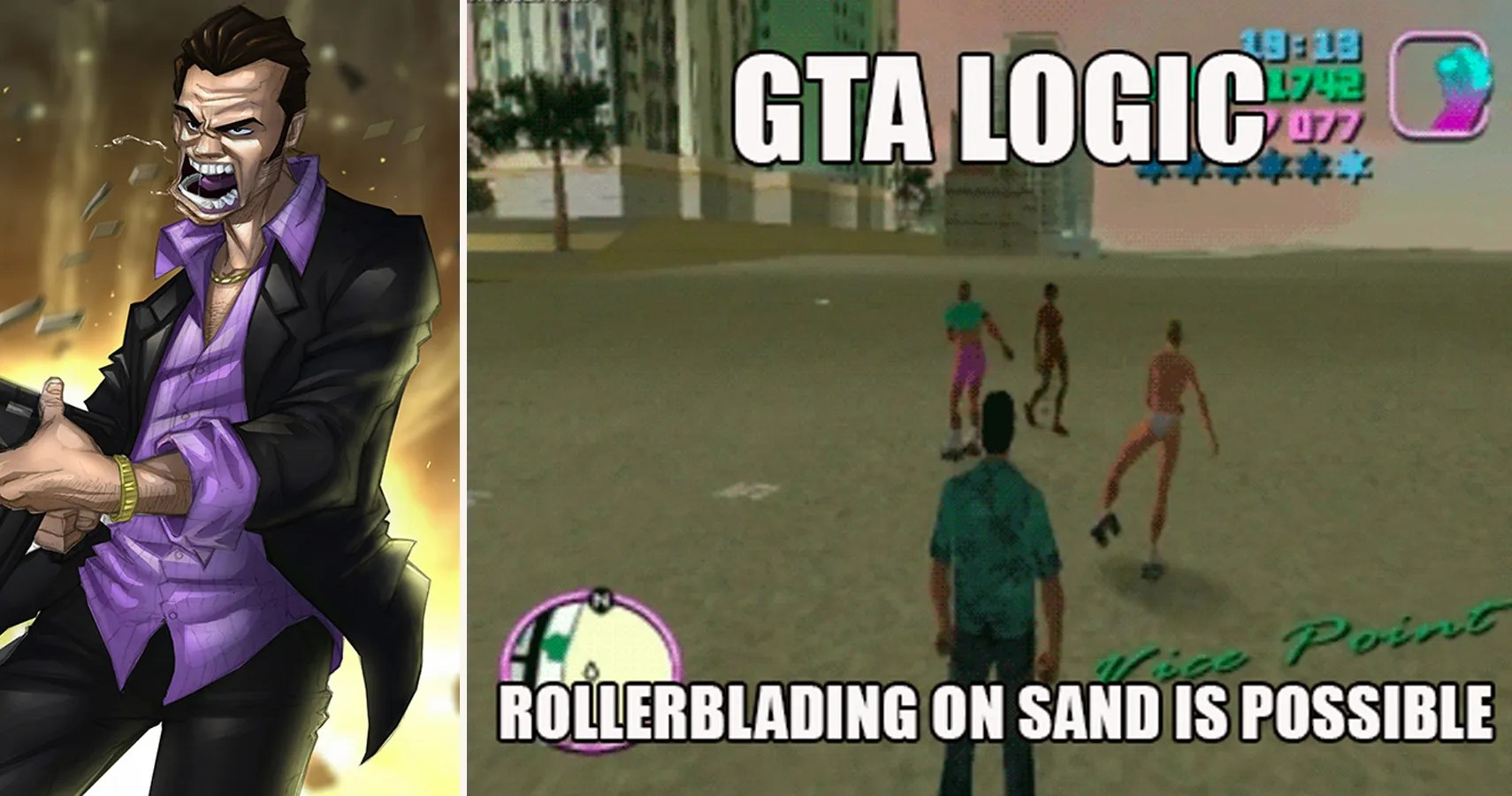 20 Hilarious Grand Theft Auto Vice City Memes Thegamer