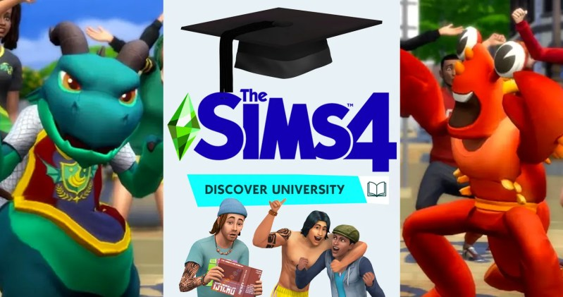 Sims 4 Discover Expansion Trailer And Update: Lobsters Vs Dragons