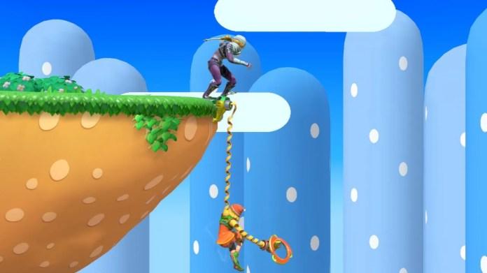 Min Min Super Smash Bros Ultimate Ledge