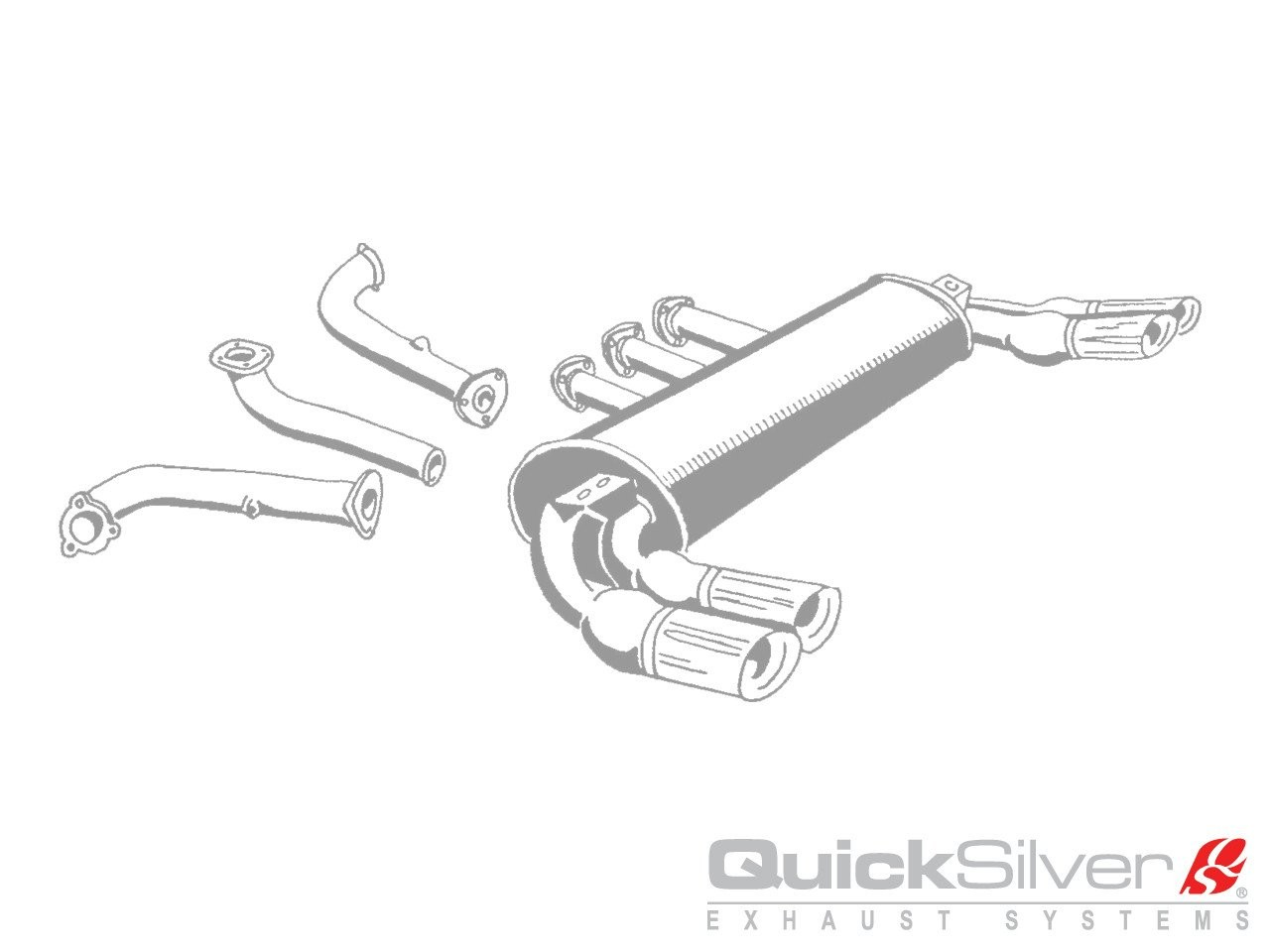 Quicksilver Exhausts Ferrari 288 Gto Stainless Steel