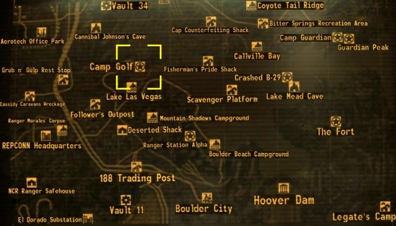 Fallout New California Republic Map