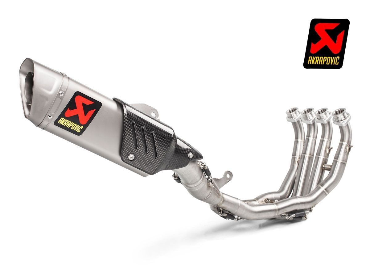 complete exhaust racing akrapovic full titanium yamaha r6 2008 2020