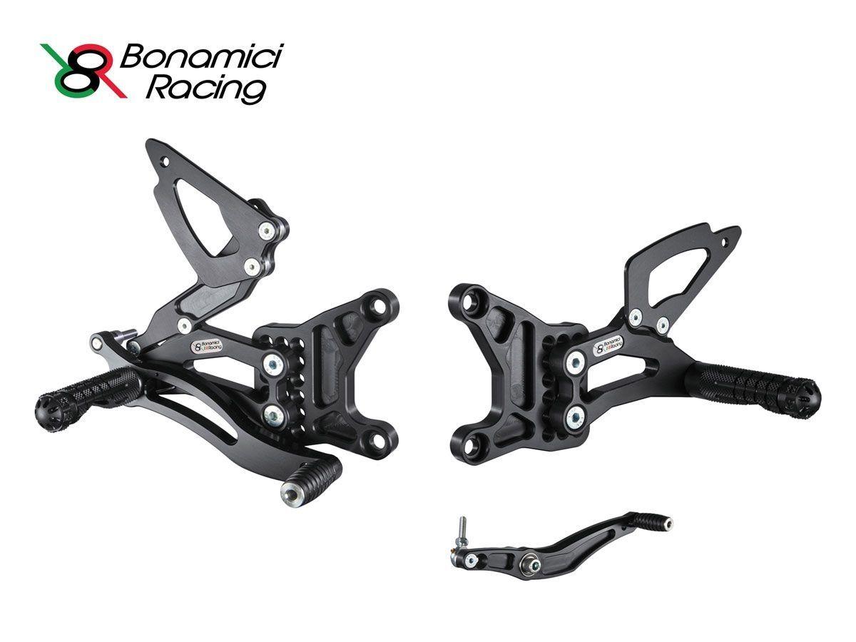 Y005 Adjustable Rear Sets Kit Bonamici Racing Yamaha Yzf