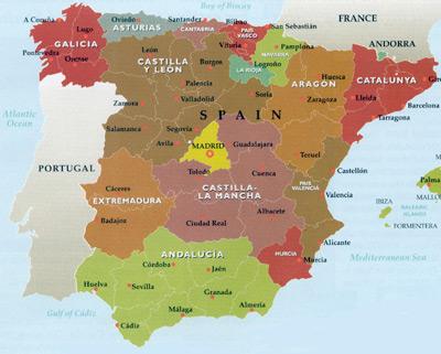 Catalonia Map Map Image Map Wallpaper