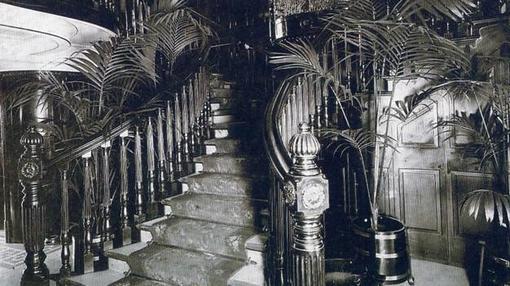 Imagen de las escaleras