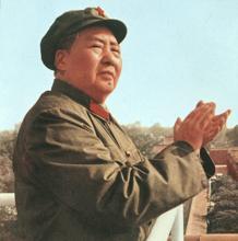 Una de la imágenes propagandísticas de Mao Tse-Tung