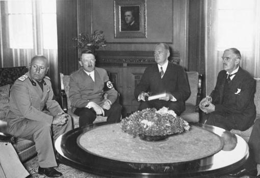 Pacto de Múnich, en 1938