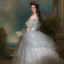 Retrato de Sisí Emperatriz