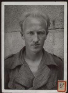 Harold Dahl, de prisionero