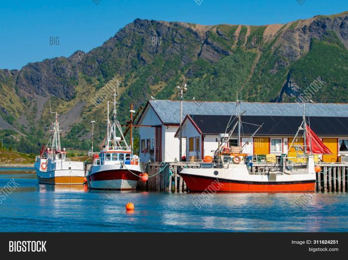 Norway, Fishing Boats Image & Photo (Free Trial) | Bigstock