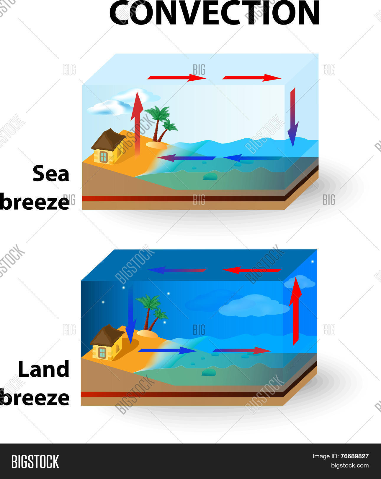 Convection Land Vector Amp Photo Free Trial