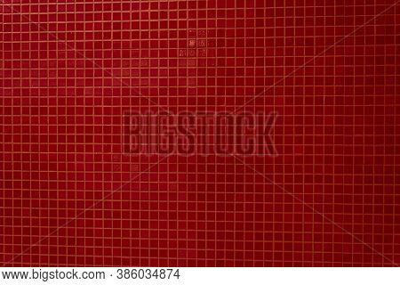 red square background image photo