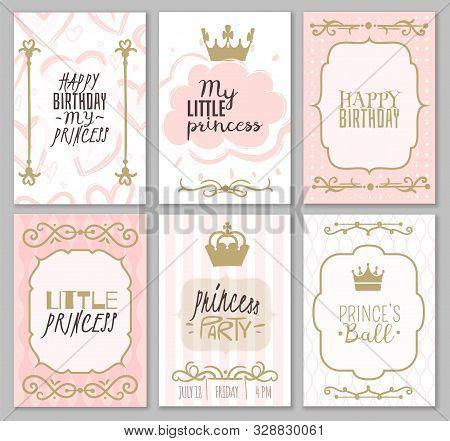 princess borders vector photo free