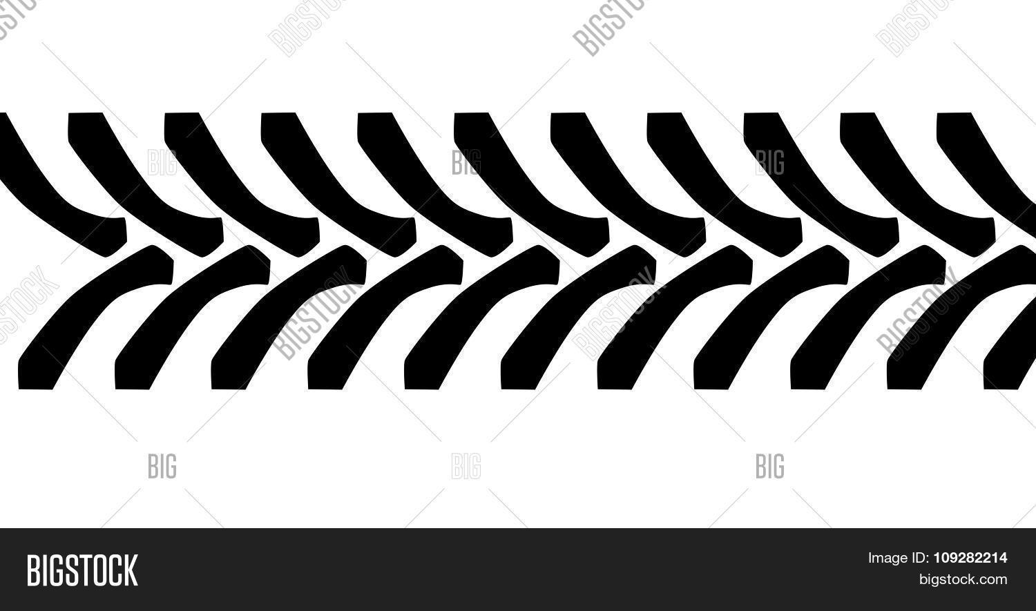 Tractor Tire Tread Vector Amp Photo Free Trial
