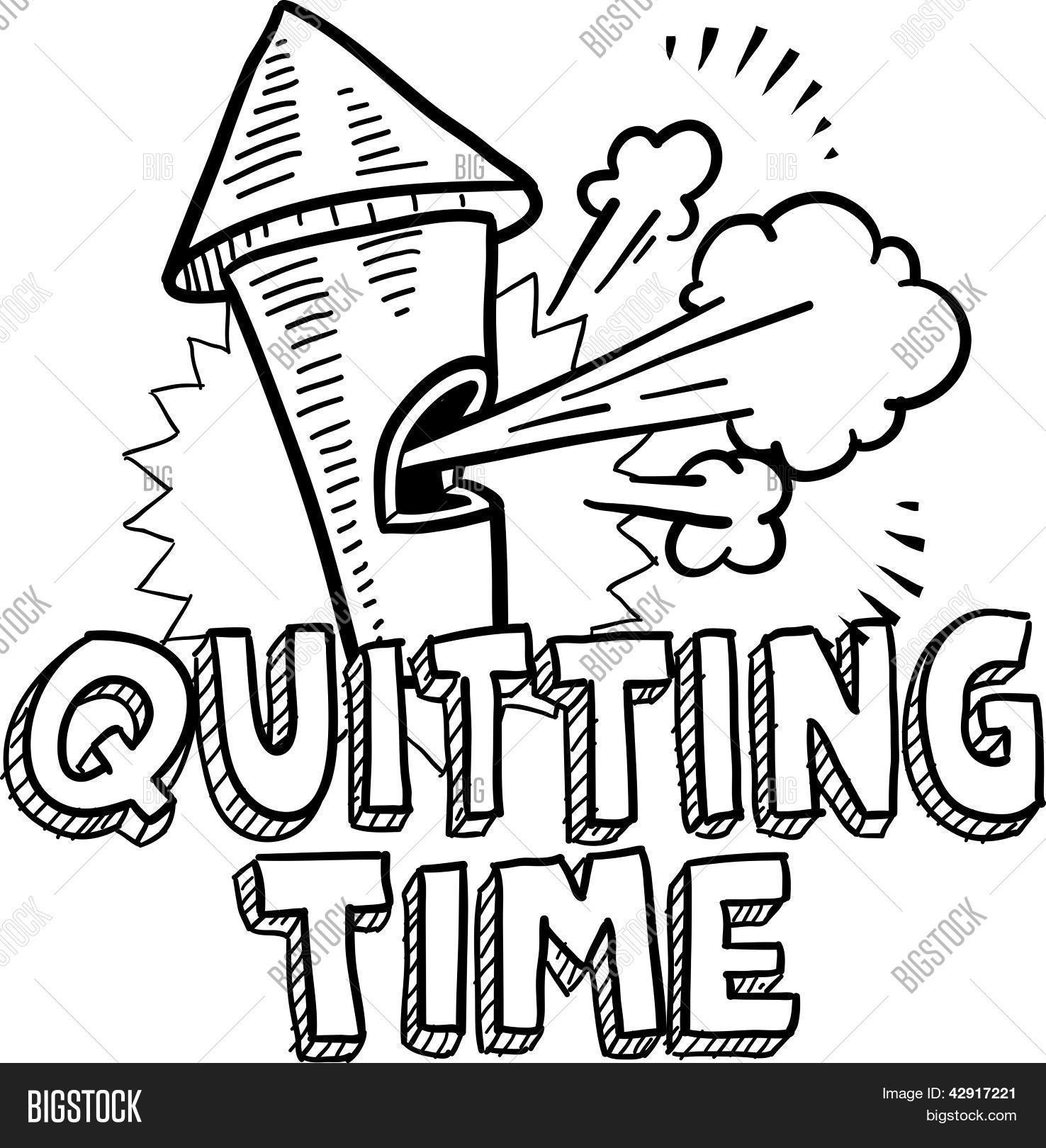 Quitting Time Whistle Vector Amp Photo Free Trial