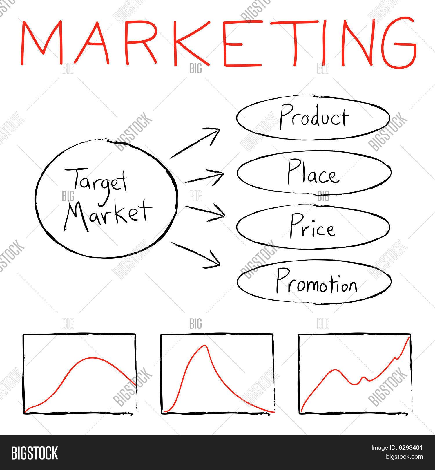 Marketing Diagram Vector Amp Photo Free Trial