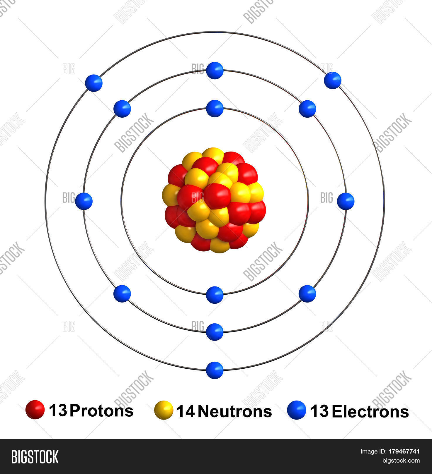 Diagram Of Atomic Structure Aluminum