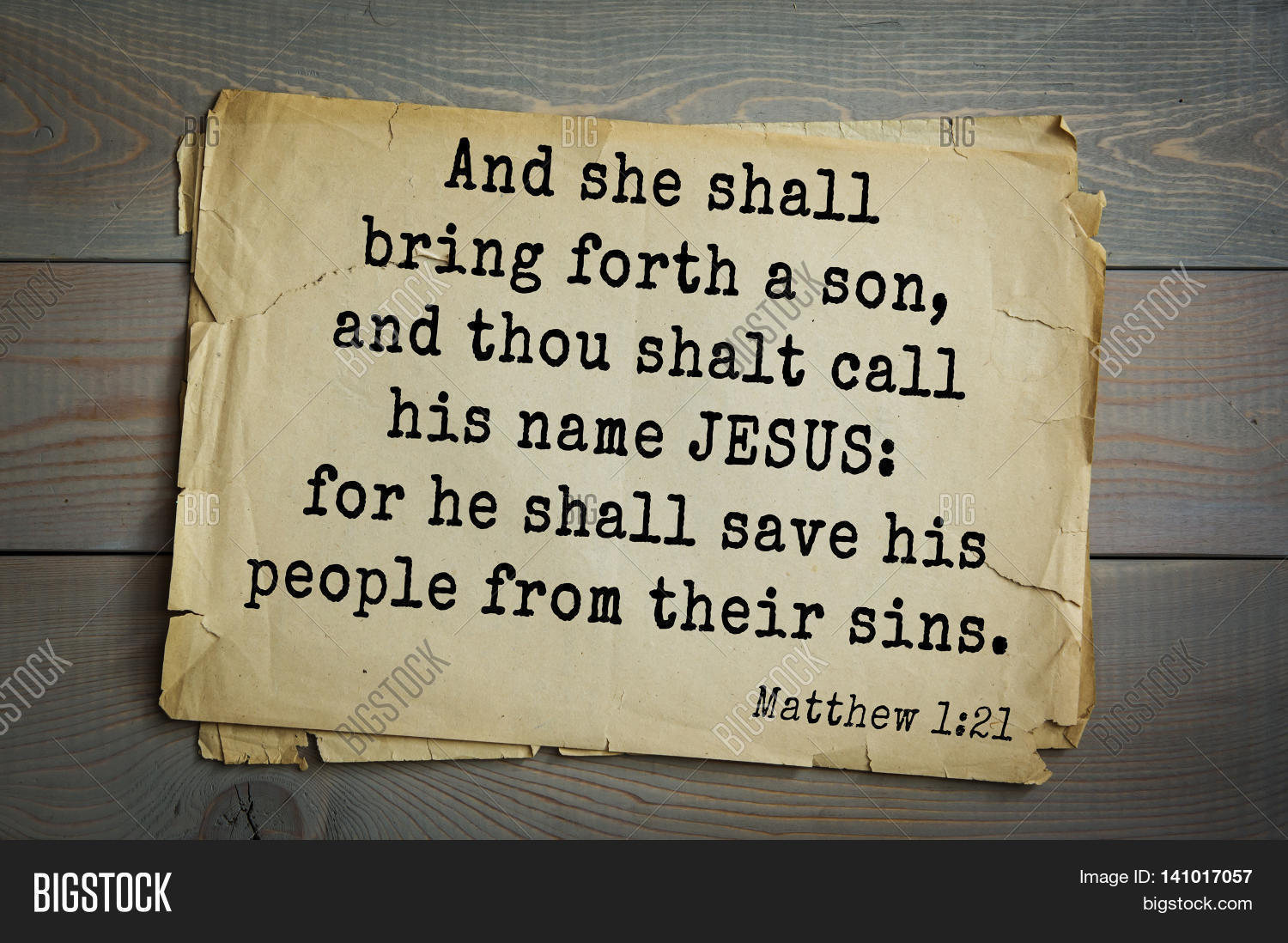Image result for Matthew 1 vs. 21 – And she shall bring forth a son, and thou shalt call his name JESUS: for he shall save his people from their sin