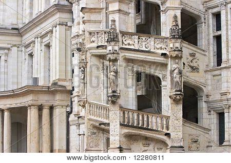 Stock photo : The stone stairway