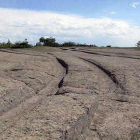 I solchi fotografati dal geologo russo