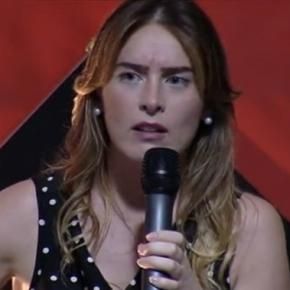 Maria Elena Boschi alla Festa dell'Unità di Santomato