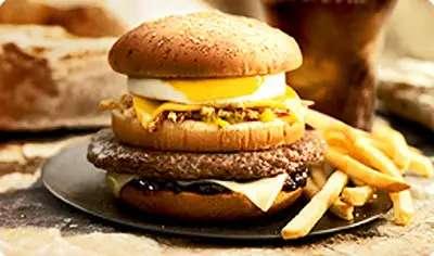 McDonald's Grand Canyon Burger