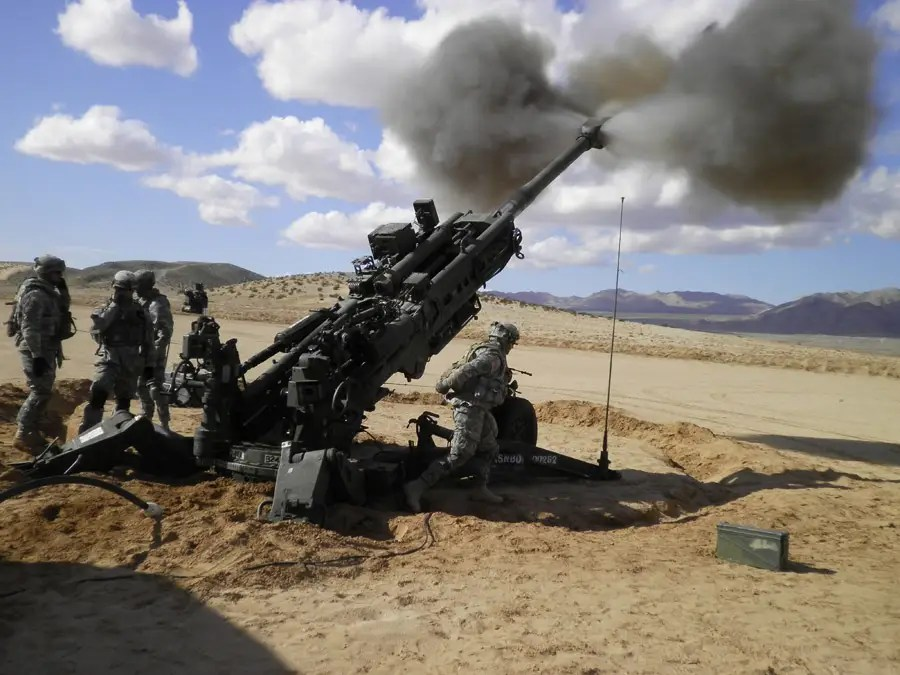 us army, cannon, shooting, rocket