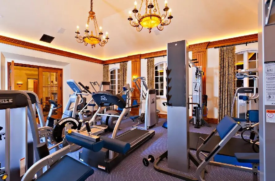 When you pay $68.8 million for a house, you bet the gym membership is included.