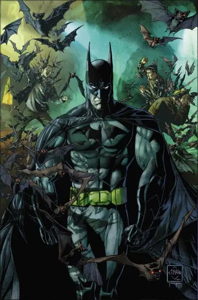 "2011: The New 52 Comics – Batman resembled the figure gamers became familiar with in ""Arkham Asylum."""