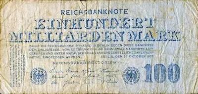 Weimar Germany: August 1922 - December 1923