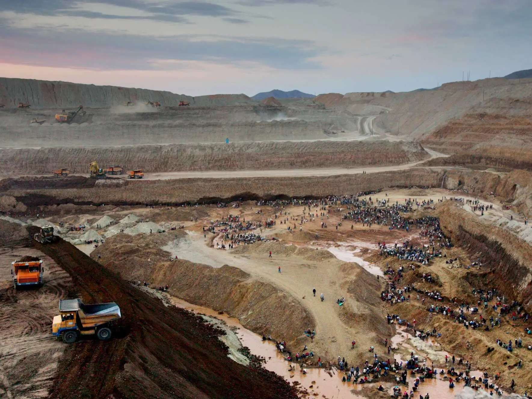 Mongolia is experiencing what is arguably the biggest gold rush of the 21st century.