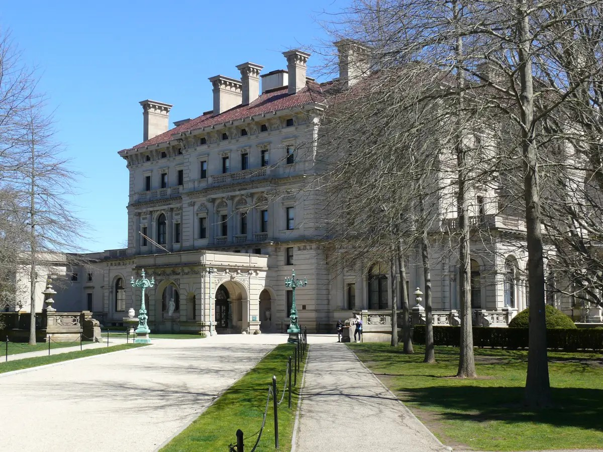 Explore the grand mansions of Newport, Rhode Island.