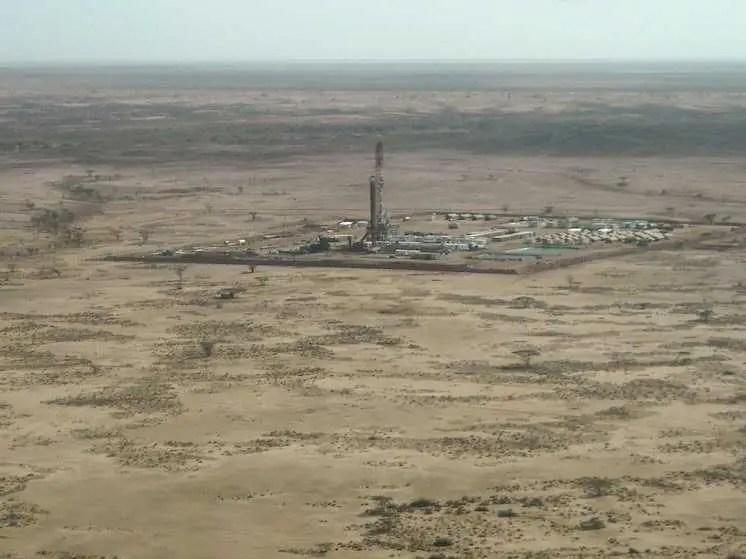yacimiento de petróleo gas fracking