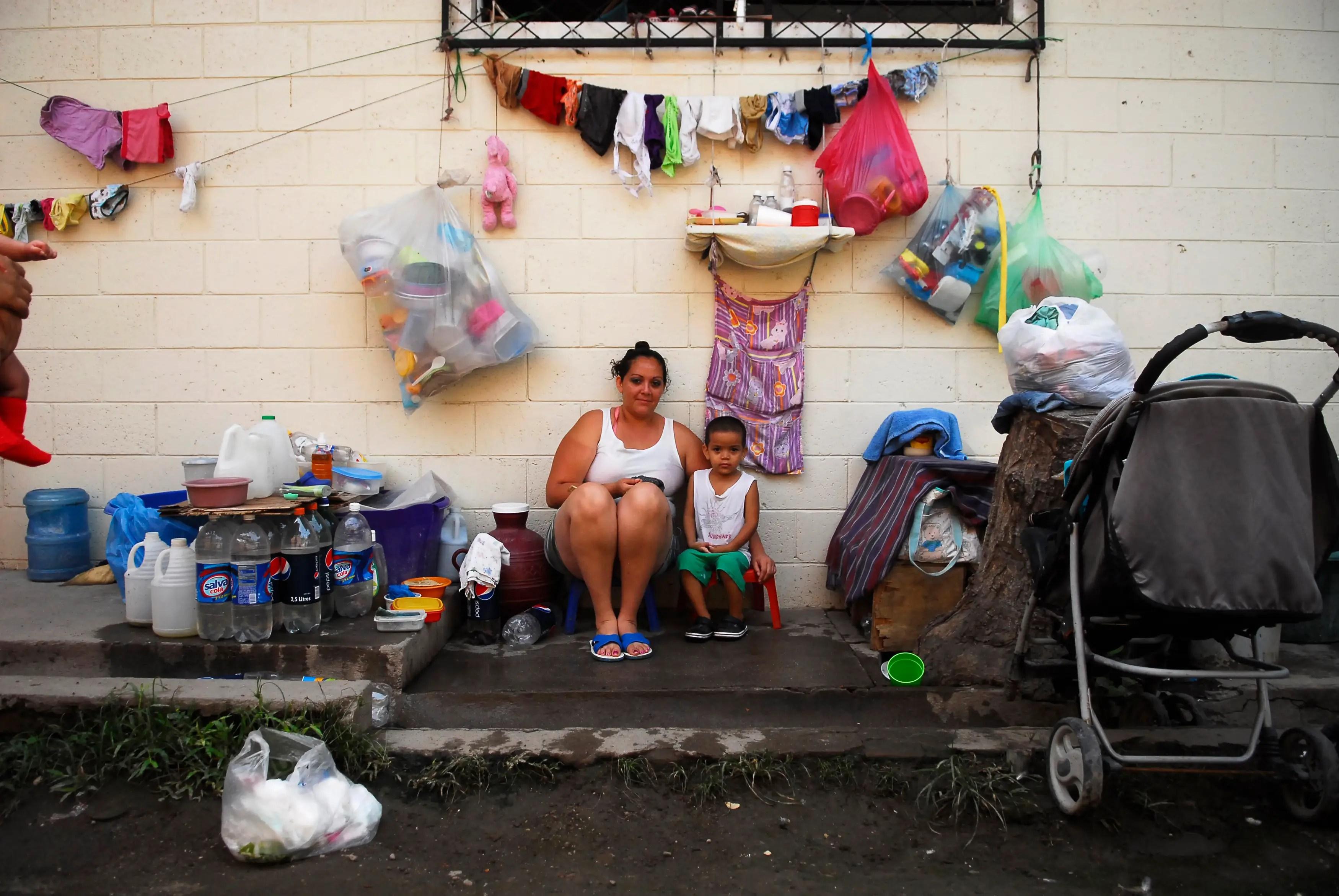 Around 1,700 women are serving time here at Ilopango women's prison in Ilopango, El Salvador, according to Reuters.